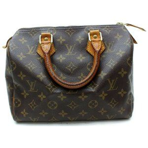 Auth Louis Vuitton Speedy 25 Hand Bag #6246L23